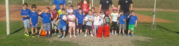 Skupni nogometno-gasilski trening najmlajših članov